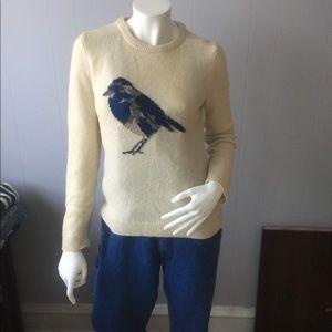 Tweet tweet little birdie. Joe Fresh. Bird sweater